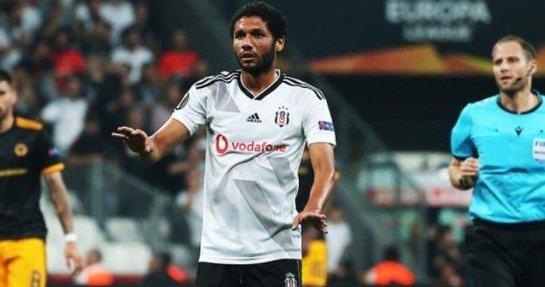 Beşiktaş'ta Elneny muhteşem oynadı sosyal medya yıkıldı!