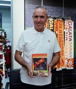 Galatasaray efsanesi Simovic taraftarlarla buluştu