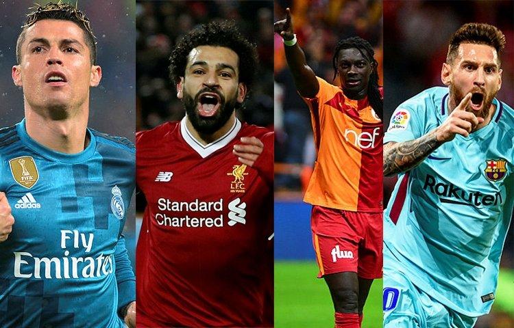 İşte en golcü oyuncular... Galatasarayın golcüsü Gomis kaçıncı sırada?