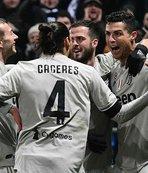 Juventus ligdeki avantajını artırdı