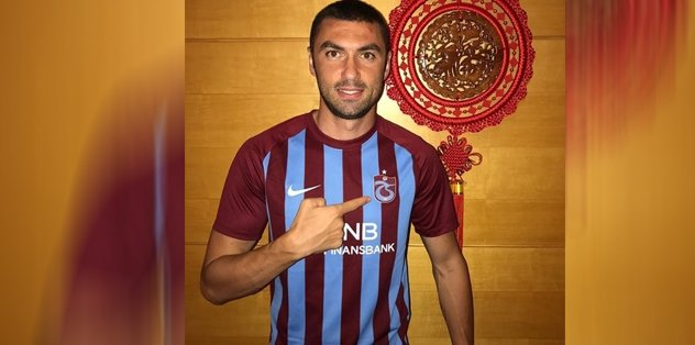 Burak Yılmaz, Trabzon'a geldi