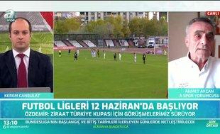 """""""Futbolun geleceği adına liglerin oynanması en doğrusu"""""""