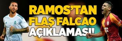 Ramos'tan flaş Falcao açıklaması!