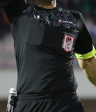 TFF 1. Lig'de 8. hafta hakemleri belii oldu