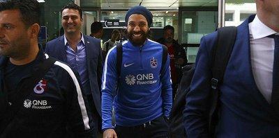 Trabzonspor kafilesi başkentte
