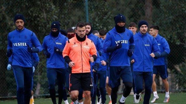Son dakika spor haberleri: Trabzonspor'da Başakşehir maçı hazırlıkları tamamlandı #