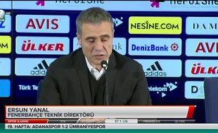 Ersun Yanal'dan Slimani  açıklaması