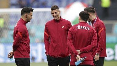 Son dakika EURO 2020 haberleri   Abdülkadir Ömür, Rıdvan Yılmaz ve Kerem Aktürkoğlu Türkiye İtalya maçında tribünde olacak!