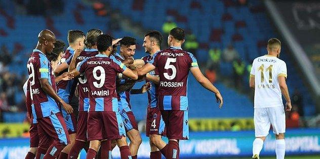 Trabzonspor'dan geçen yıla 7 puan fark