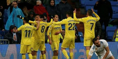 Villarreal'den Real'e darbe