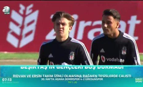 Beşiktaş'ın gençleri boş durmadı
