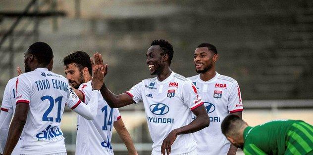 Galatasaray'ın Lyon'a kaptırdığı Tino Kadewere ilk maçında 4 gol attı! - Fransa Ligue 1 -