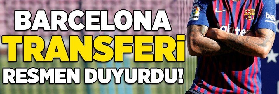 Barcelona transferi resmen açıkladı