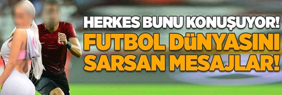 Futbol camiasını sarsan mesajlar!