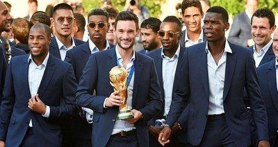 2018 Dünya Kupası'nda zafer Fransa'nın!