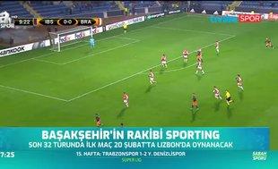 Başakşehir'in rakibi Sporting Lizbon