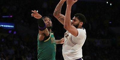 Los Angeles Lakers Boston Celtics'i iki sayı farkla yendi