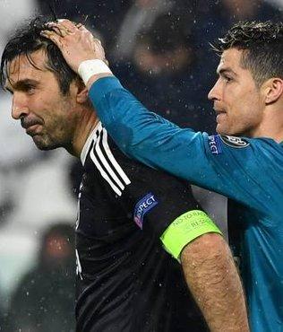 Ronaldo ve Buffon'dan Arnavut çocuklara sürpriz