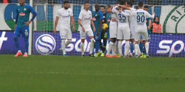 Çaykur Rizespor 0-3 Kasımpaşa   MAÇ SONUCU