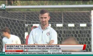 Beşiktaş'ta gündem teknik direktör