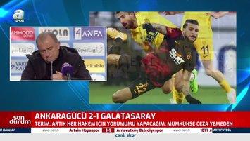 Fatih Terim'den Ankaragücü maçı sonrası flaş itiraf!