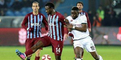 Trabzonspor, Konyaspor'a konuk oluyor