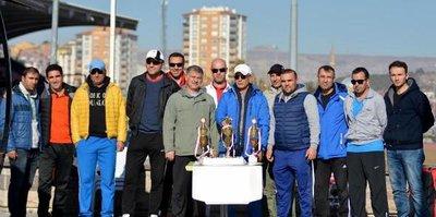 Kayseri'de Tenis meydan okuma ligi gerçekleştirildi