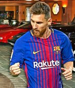 Messi'nin garajını hiç merak ettiniz mi?