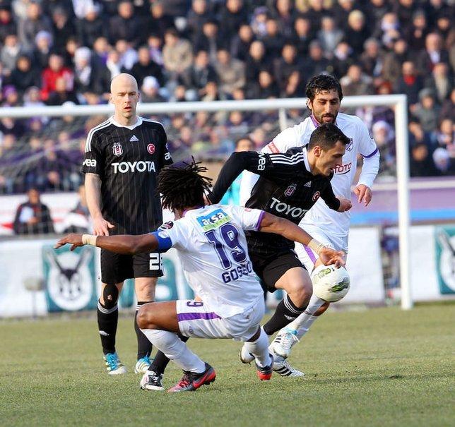 Orduspor - Beşiktaş Spor Toto Süper Lig 30. hafta mücadelesi