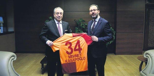 Başkan Cengiz'den Bakan'a ziyaret