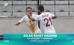 Galatasaray kampı galibiyetle noktaladı