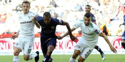 Bursaspor'un deplasman kabusu sürüyor