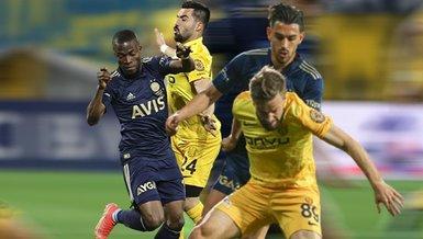 Son dakika! Başkent'te Fenerbahçe'den geri dönüş! Ankaragücü Fenerbahçe maçı ÖZET