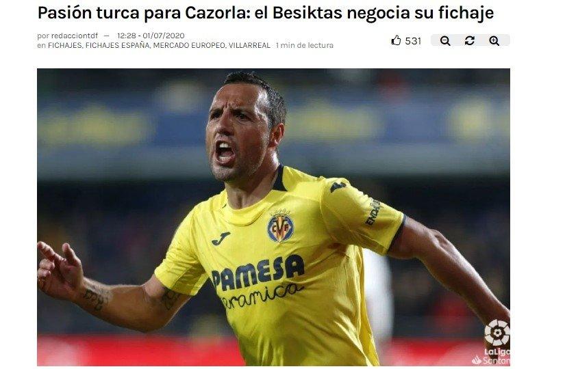 besiktas buyuk oynuyor santi cazorlaya resmi teklif 1593603295325 - Beşiktaş büyük oynuyor! Santi Cazorla'ya resmi teklif...