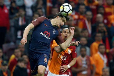 İşte Galatasaray - Başakşehir maçından kareler