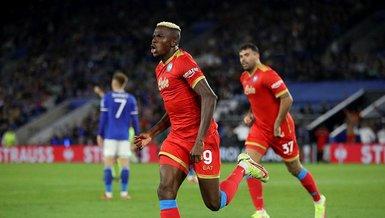 Leicester City - Napoli: 2-2 (MAÇ SONUCU - ÖZET)