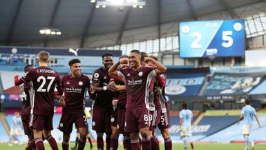 Manchester City 2-5 Leicester City | MAÇ SONUCU