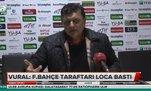 """Yılmaz Vural: """"Fenerbahçe taraftarı loca bastı"""""""