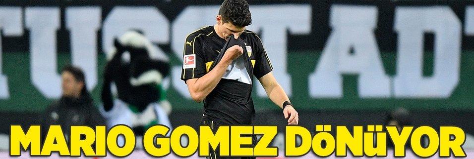 Mario Gomez dönüyor