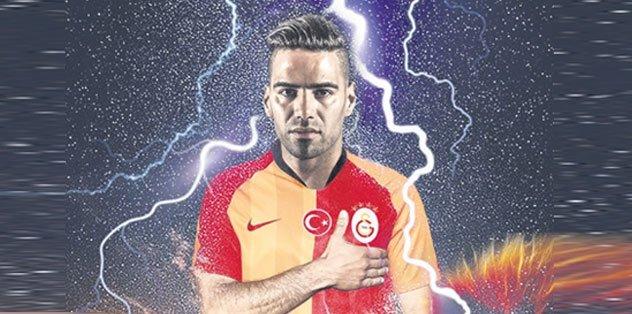 Falcao'dan Monaco'ya Galatasaray resti!