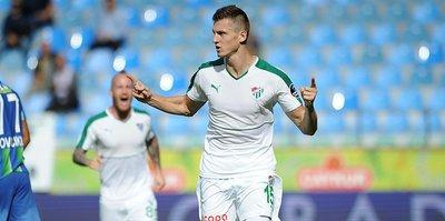Bursaspor'da golcüler Fernandao'yu geçemedi