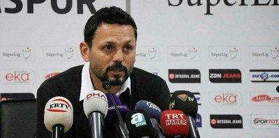 Erol Bulut: Galatasaray'a patladık