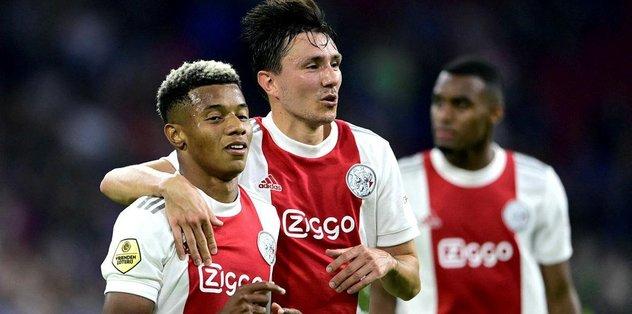 Ajax Cambuur maç sonucu: 9-0 Ajax Cambuur maç özeti izle - Son dakika Avrupa'dan Futbol haberleri...