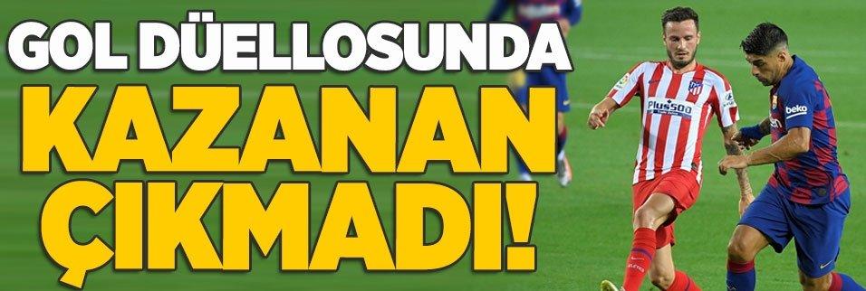 barcelona 2 2 atletico madrid mac sonucu 1593555179351 - İspanya'yı sallayan kare! Simeone'nin oyuncusuna olay tepkisi...