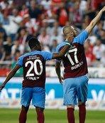Uzatmaların golcüsü Trabzonspor