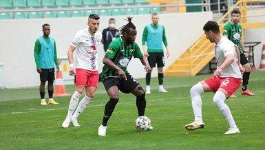 Akhisarspor Altınordu 1-1 (MAÇ SONUCU - ÖZET)