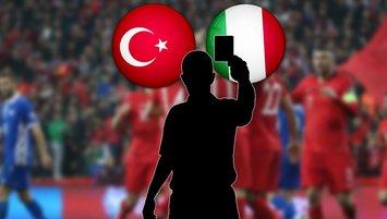 Türkiye-İtalya maçının hakemi belli oldu!