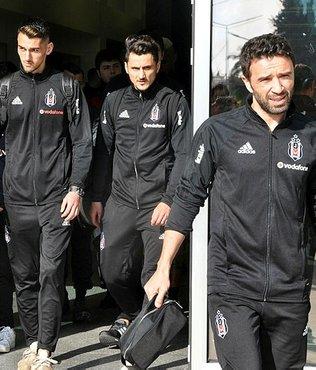 Beşiktaş kafilesi İzmir'de