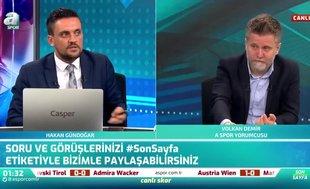 """Canlı yayında flaş sözler! """"Galatasaray Falcao'yu göndermek zorunda"""""""