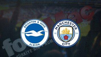 Brighton - Manchester City maçı saat kaçta? Hangi kanalda?